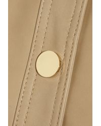 Tory Burch Natural Alexander Leather Jacket