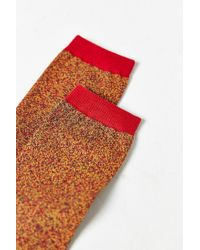 Urban Outfitters - Orange Marled Sock for Men - Lyst