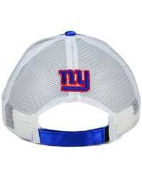KTZ - Blue Women's New York Giants Satin Chic 9forty Cap - Lyst