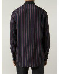 3.1 Phillip Lim - Blue Striped Shirt for Men - Lyst