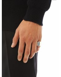 Dominic Jones - Metallic Moses Ring for Men - Lyst