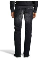 PRPS | Black 1 Yr Wash Faded Barracuda Cuffed Straight Leg Jeans for Men | Lyst