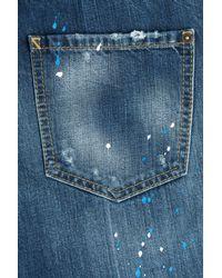 DSquared² | Blue 'pat' Jeans | Lyst