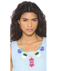 Gemma Redux Multicolor Flora Rainbow Necklace - Rainbow