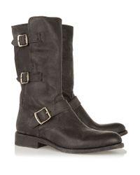 Frye - Black Jayden Leather Boots - Lyst