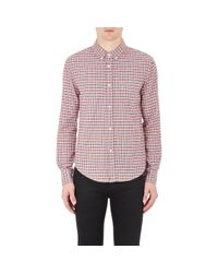 Band of Outsiders | Multicolor Men's Plaid Flannel Shirt for Men | Lyst