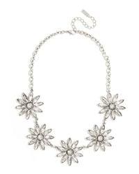 BaubleBar | Metallic Crystal Posy Collar | Lyst