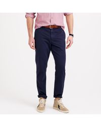 J.Crew | Blue Sun-faded Chino In 770 Urban Slim Fit for Men | Lyst