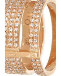 Repossi - Metallic Berbère 18-Karat Rose Gold Diamond Ring - Lyst
