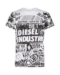 DIESEL | Black T-joe-go for Men | Lyst