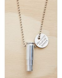 Forever 21 Metallic Half United The Classic Necklace
