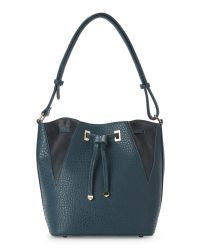 Nila Anthony - Blue Teal Bucket Bag - Lyst