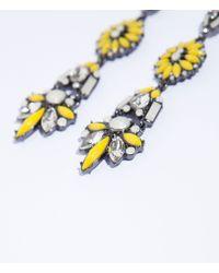 Zara | Yellow Long Earring | Lyst