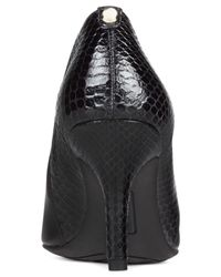 Anne Klein Black Yeppy Pointed Toe Dress Booties