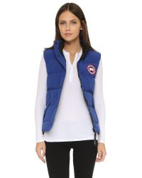 Canada Goose - Blue Freestyle Vest - Lyst