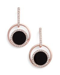 kate spade new york | Pink 'in The Spotlight' Drop Earrings | Lyst