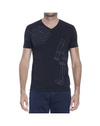 Armani Jeans | Black T-shirt for Men | Lyst