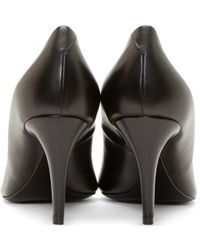Alexander Wang Black Leather Andy Pumps