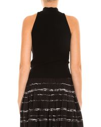 A.L.C. - Black Presley High Neck Top - Lyst