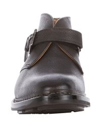 Heschung - Gray Chene Monk-Strap Boots for Men - Lyst