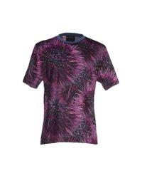 Nhivuru Purple T-shirt for men