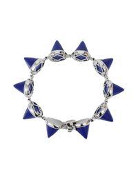 Eddie Borgo Blue Lapis Cone Bracelet
