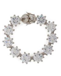 Eddie Borgo - Metallic Crystal Bracelet - Lyst