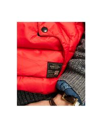 Denim & Supply Ralph Lauren | Red Ripstop Down Vest for Men | Lyst