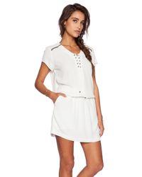 IKKS White Tie Dress