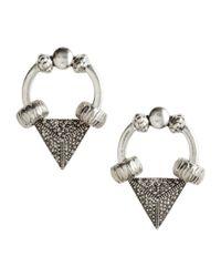 H&M | Metallic Earrings | Lyst