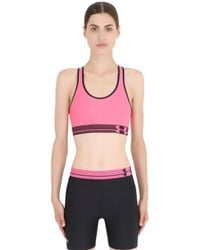 Under Armour Pink Heatgear Alpha Training Sports Bra