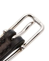 Hermès | Black HermãˆS Leather Bracelet | Lyst
