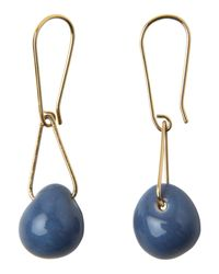 Toast | Metallic Helena Rohner Porcelain Drop Earrings | Lyst