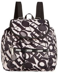 LeSportsac Black Small Edie Backpack