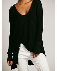 Free People | Black We The Free Sunset Park Thermal | Lyst