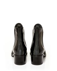 Moda In Pelle Gray Colina Medium Casual Short Boots
