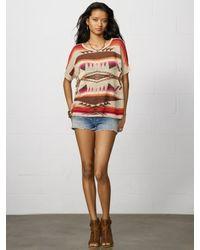 Denim & Supply Ralph Lauren Red Dolman sleeved Sweater