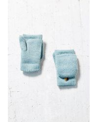 Urban Outfitters - Blue Diamond Convertible Plush Glove - Lyst