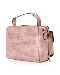 TOPSHOP - Pink Camera Crossbody Bag - Lyst