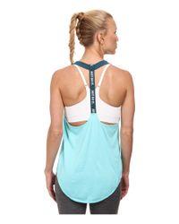 Nike Blue Dri-Fit™ Elastika Tank Top