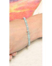 Ginette NY - Blue Elastic Amazonite Bracelet - Amazonite - Lyst