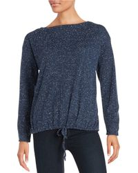 Alternative Apparel | Blue Constellation Thermal Trekker Top | Lyst