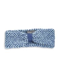 Wooden Ships | Blue Marled Knit Headband | Lyst