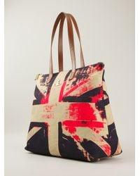 Vivienne Westwood Multicolor Derby Mini Leather Bag