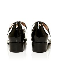 Moda In Pelle Black Francia Low Smart Shoes