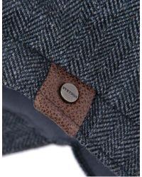 Stetson Hatteras Silk Herringbone Cap in Gray for Men - Lyst 9d701125f453