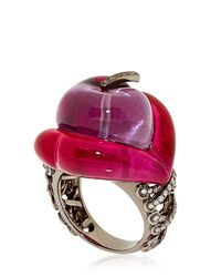 Lydia Courteille | Purple Erotic Ring | Lyst