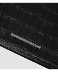 AllSaints Black Christopher Wallet