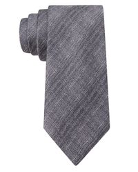 William Rast | Gray Silk Abstract Plaid Tie for Men | Lyst