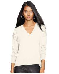 Polo Ralph Lauren Natural V-neck Sweater
